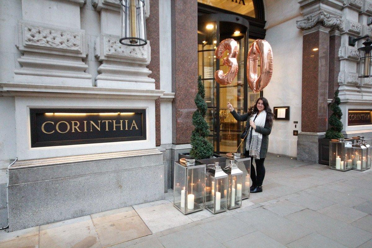 Corinthia Hotel Londen Zo Vierde Ik Er Mijn 30e Verjaardag