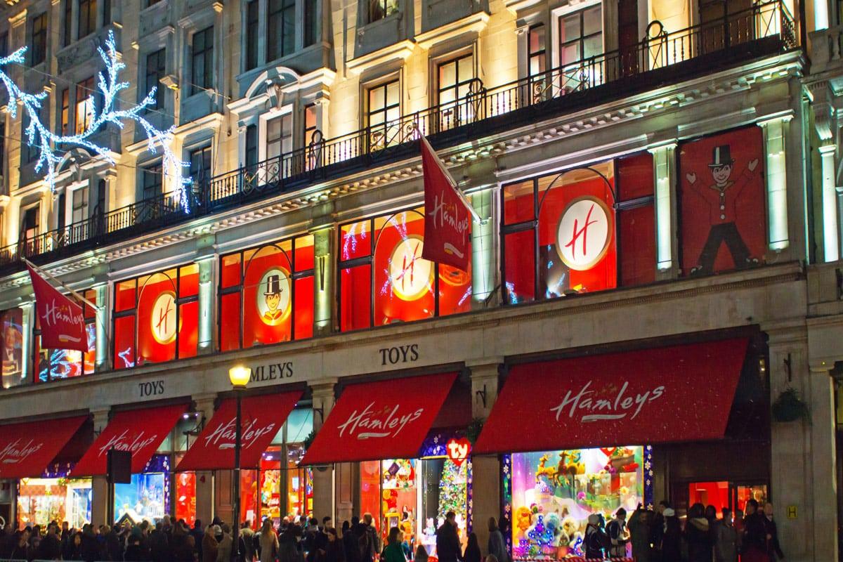 Kerstshoppen Londen speelgoedwinkel
