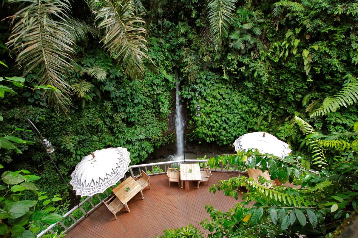 waterval Ubud Bali