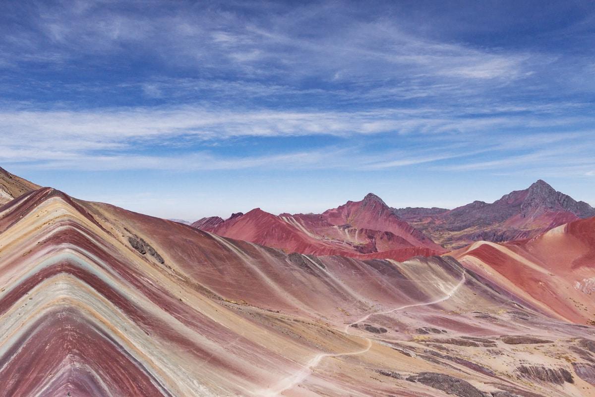 Regenboogberg Peru