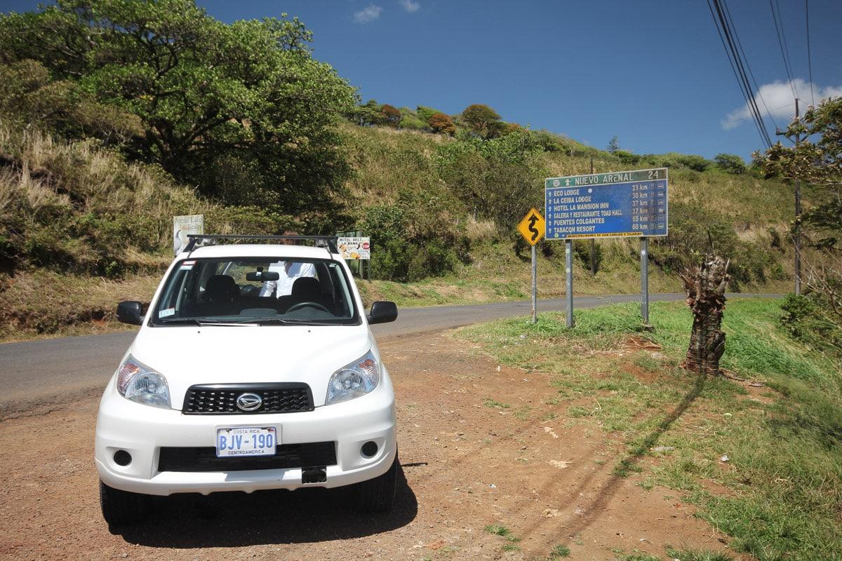 Auto huren Costa Rica wegen