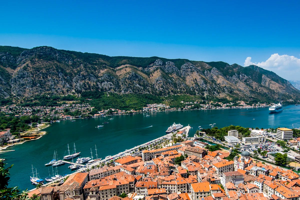 mooiste landen montenegro