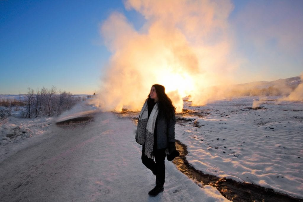 Golden Circle Route IJsland