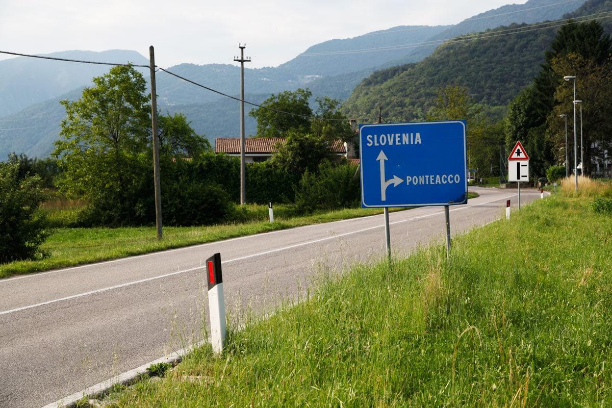 auto huren in Slovenië wegen