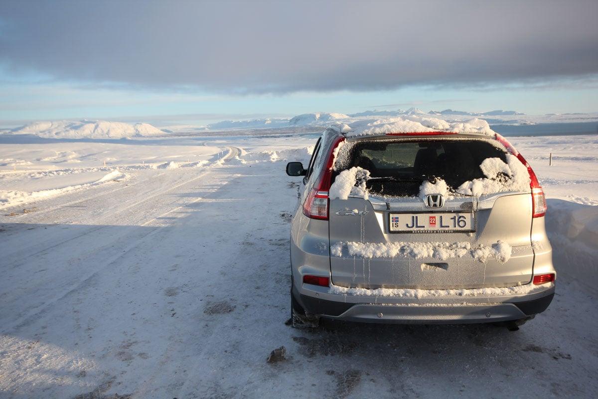 Autorijden in IJsland in de winter
