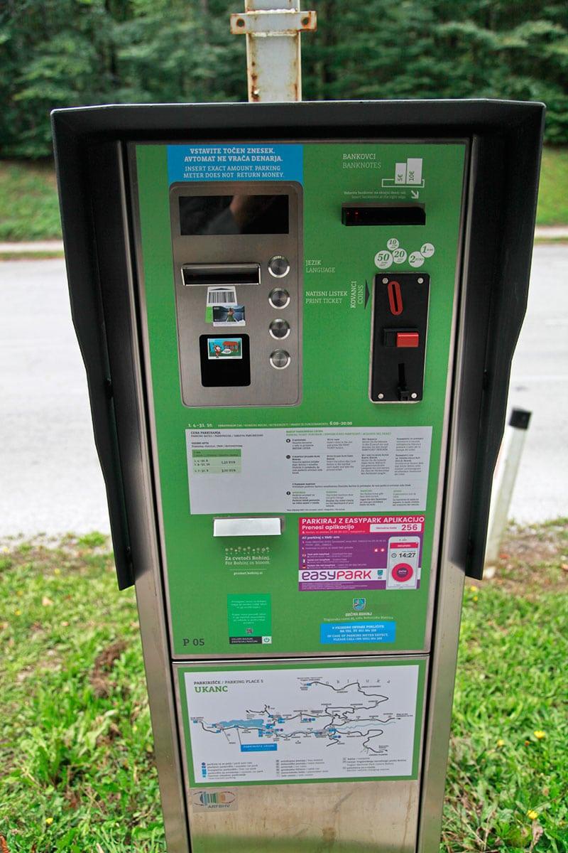 parkeermeter Slovenië