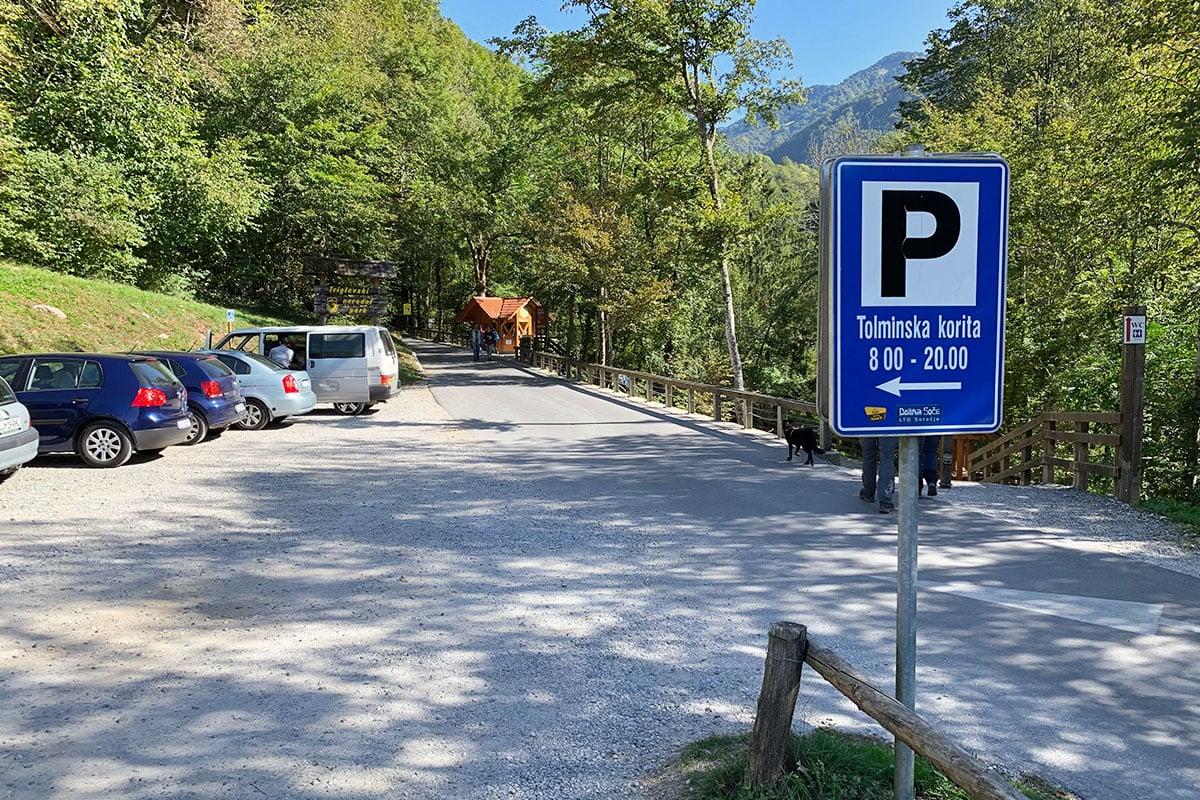 parkeren in Slovenië parkeermeters