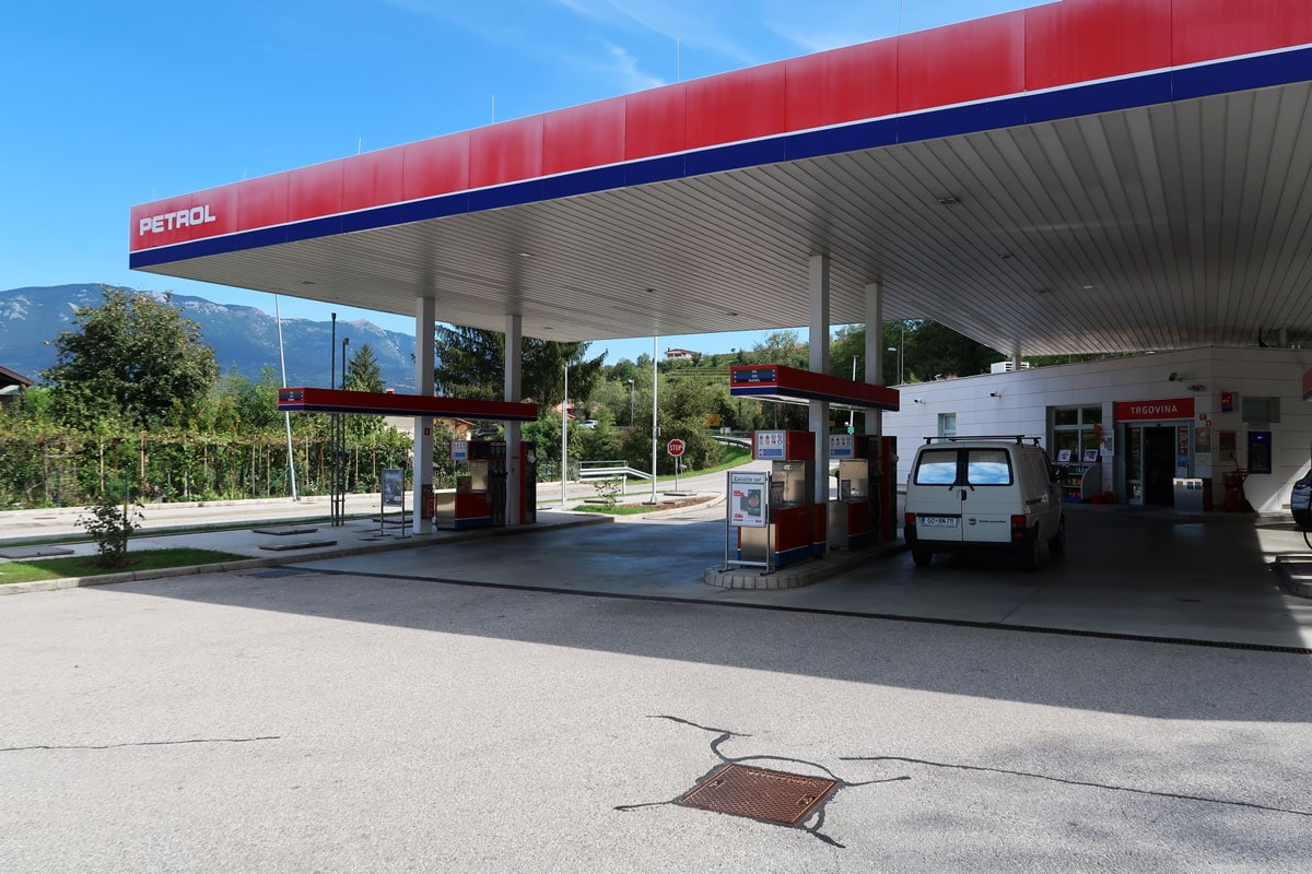 tanken in Slovenie tankstations