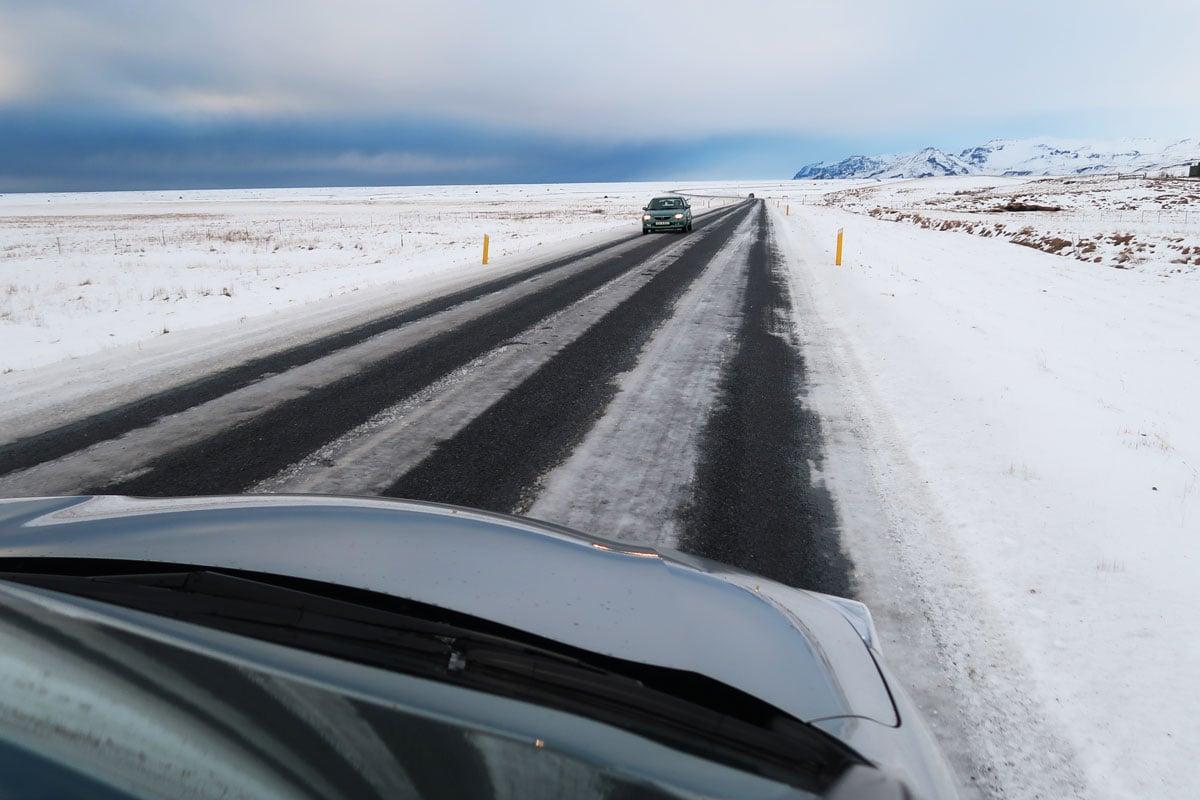 Auto huren vliegveld IJsland