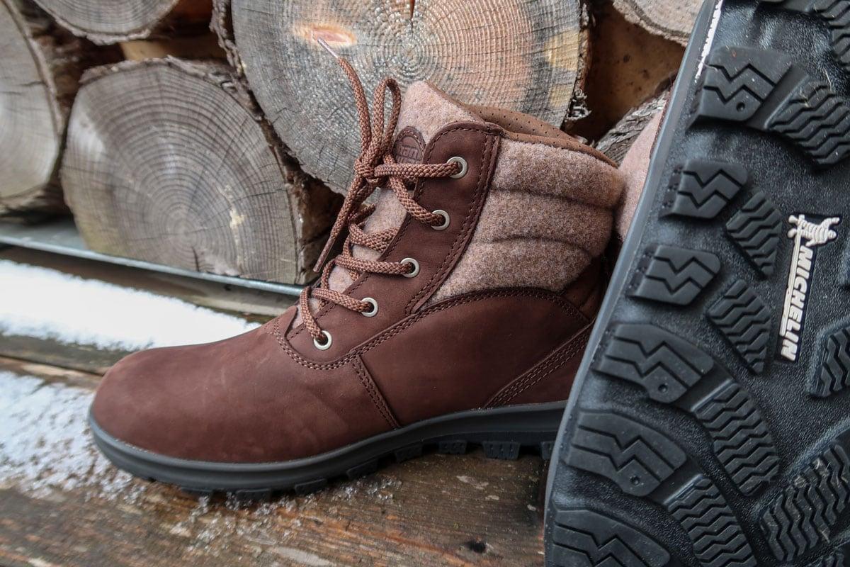 Hanwag Aotea schoenen Michelin zool