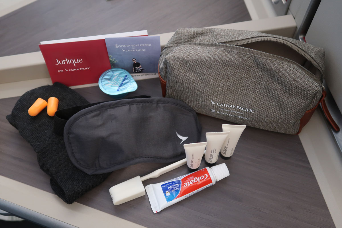 cathay pacific jurlique amenities