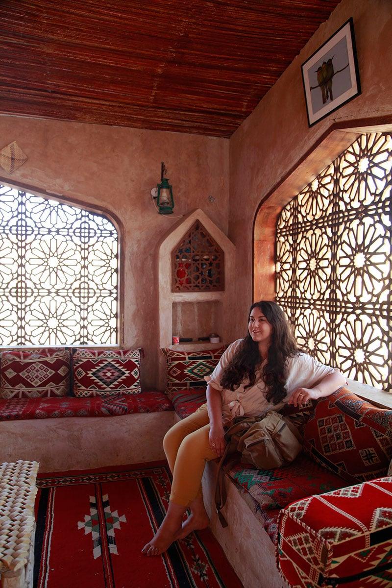 Tocht door de woestijn in Oman