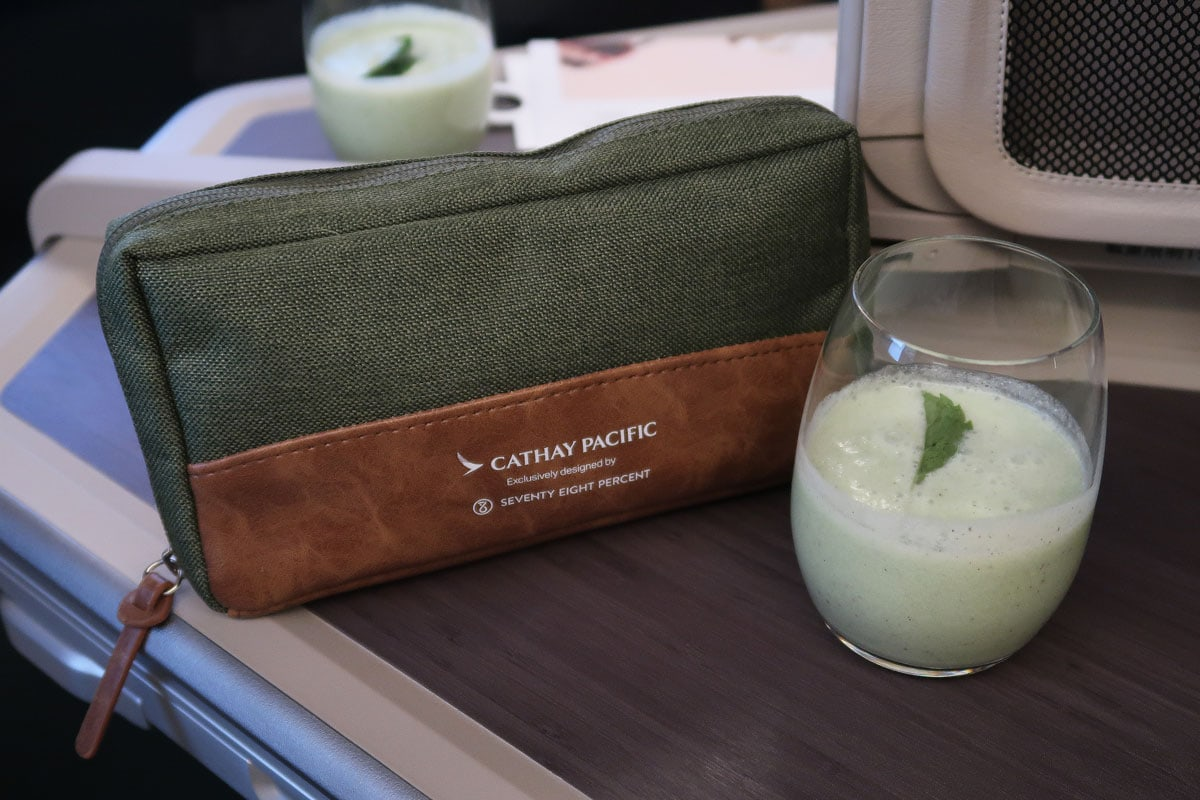 cathay pacific business class voordelen