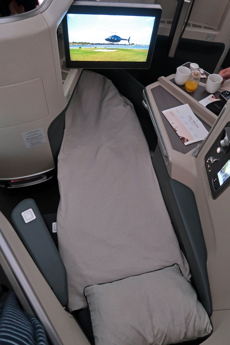 cathay pacific flat beds
