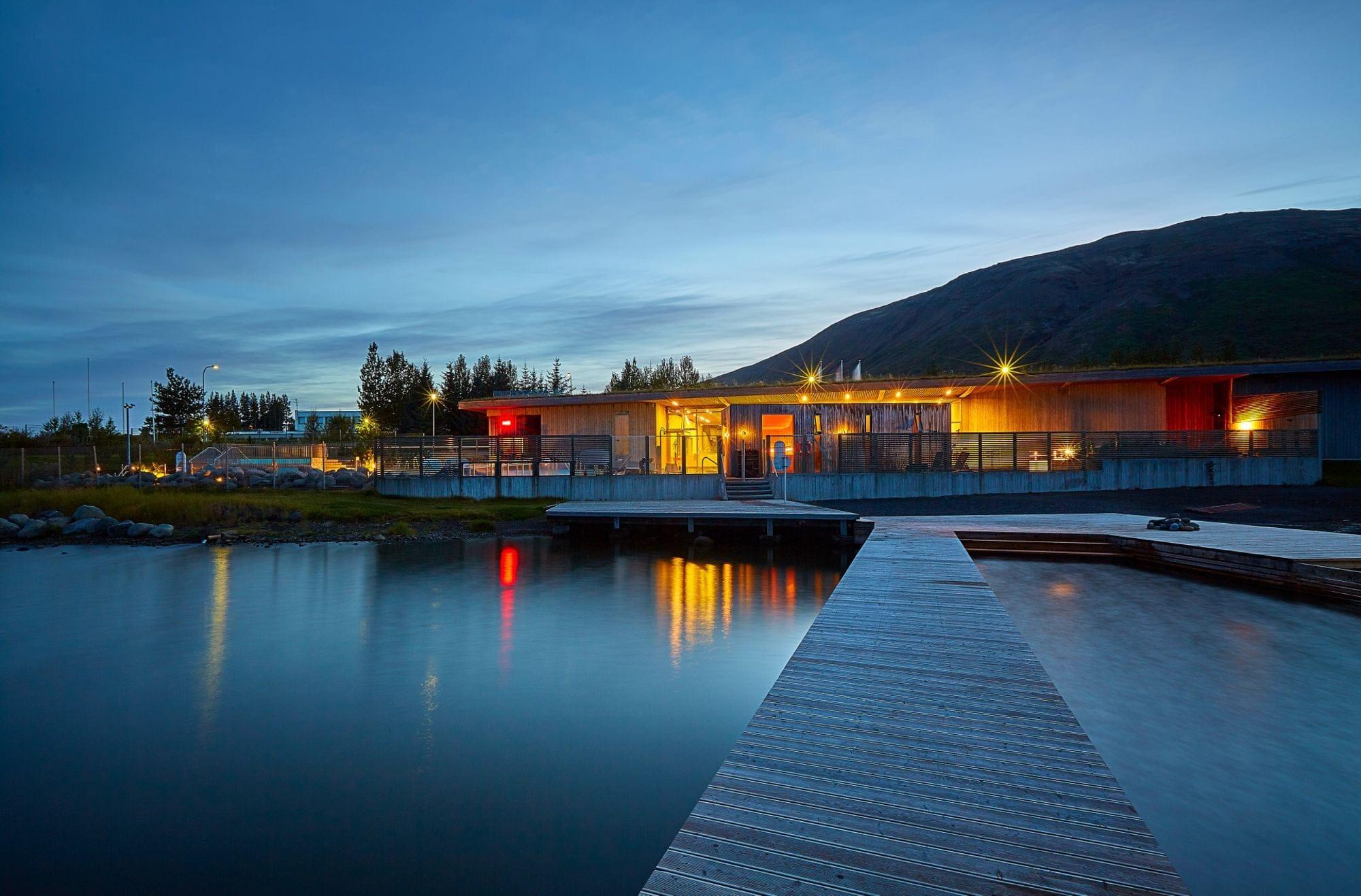 Hot springs in IJsland