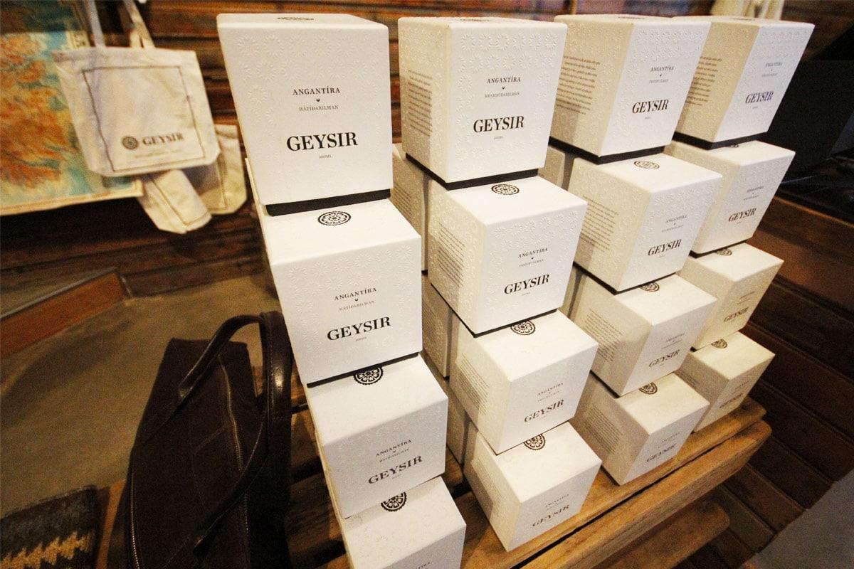 Souvenirwinkel Geyser IJsland