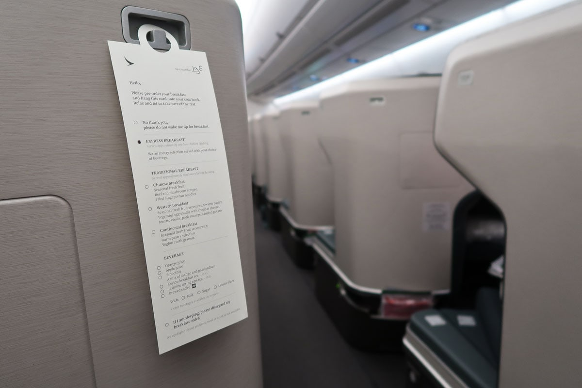 cathay pacific service