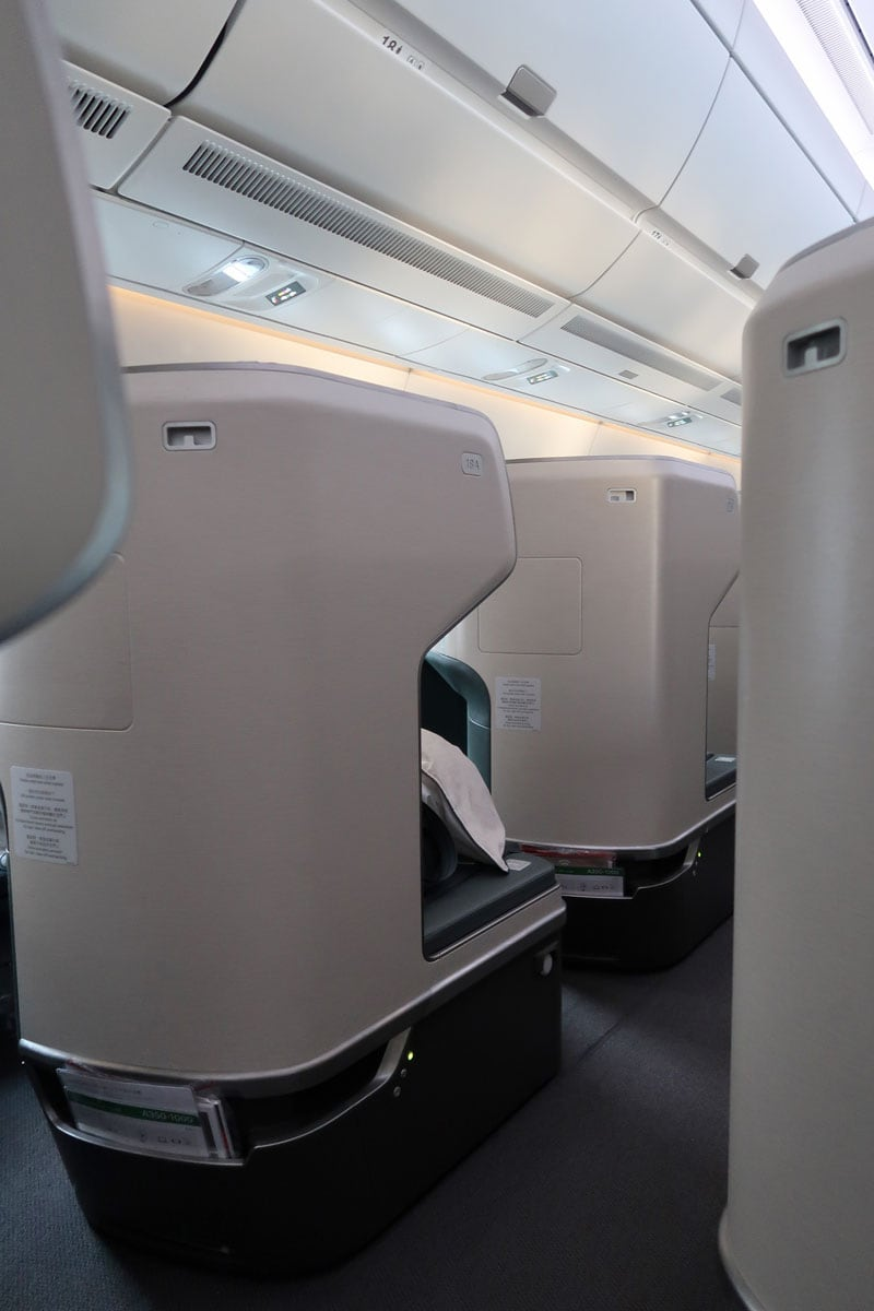 cathay pacific business class privacy