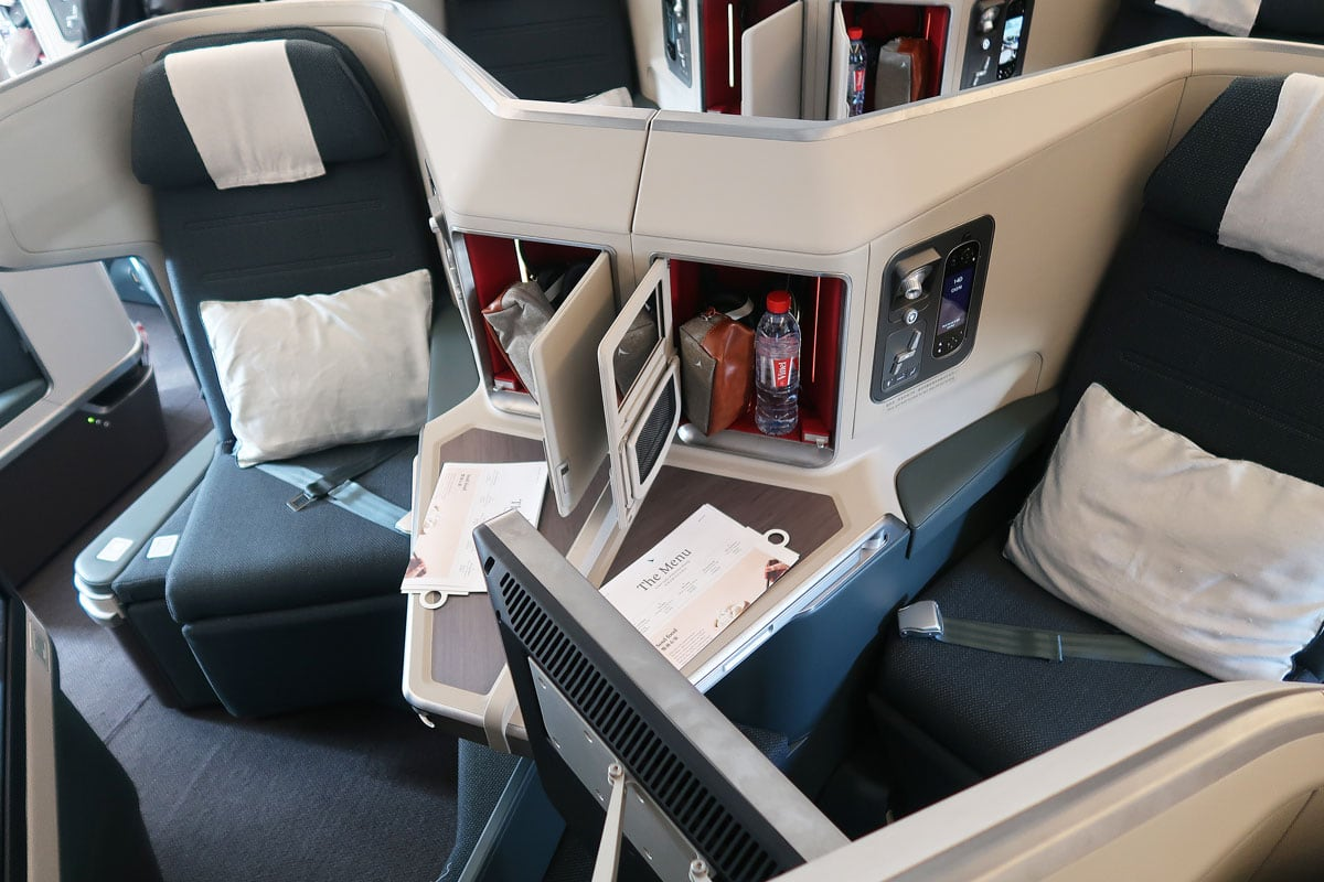 business class vliegen cathay pacific