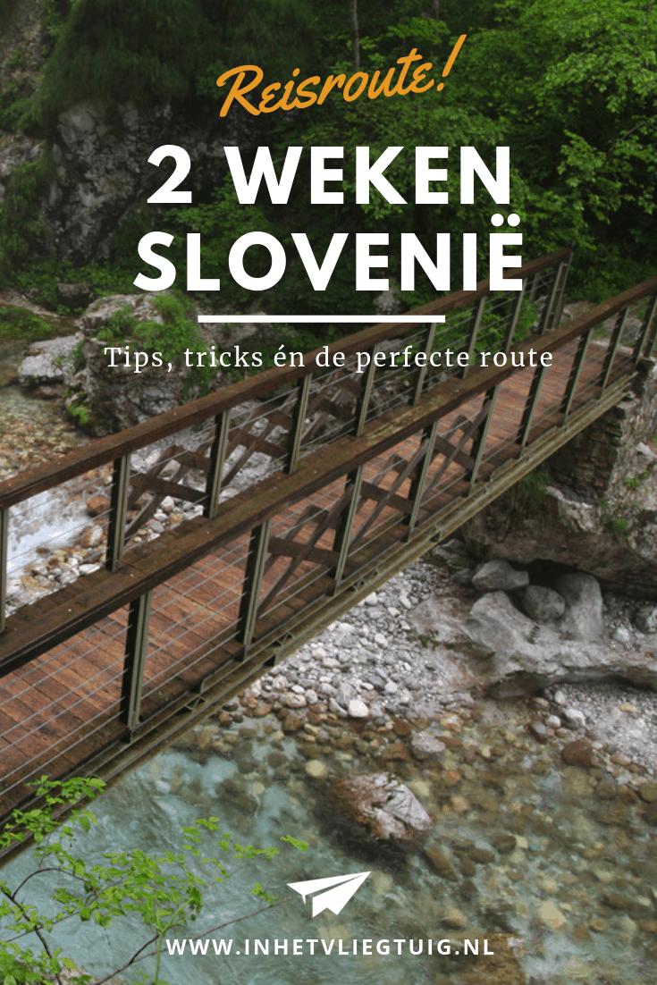 reisroute 2 weken Slovenië