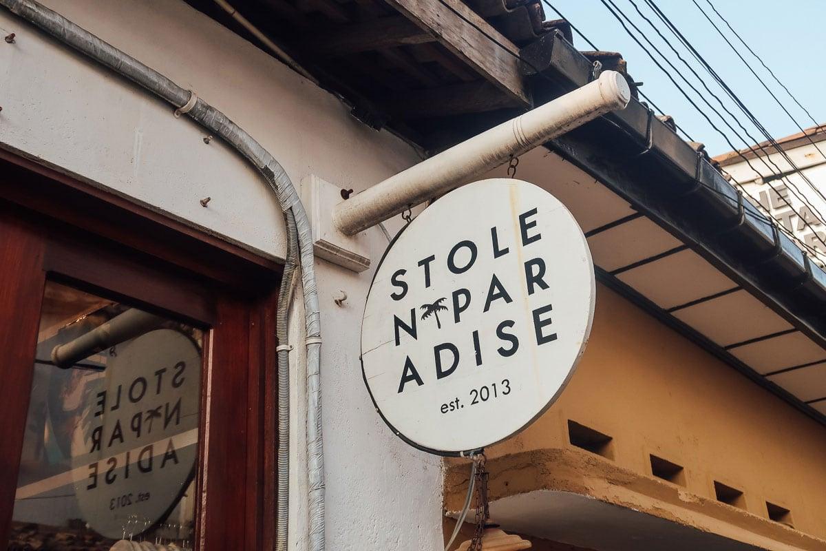 Stolen Paradise winkelen Galle Fort