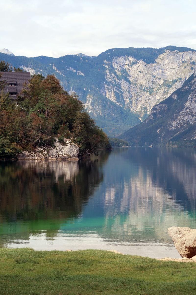 Reisroute Slovenië Lake Bohinj