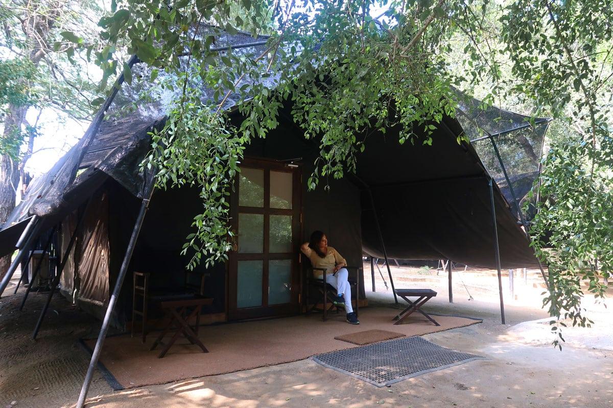 Safari Tent bij Leopard Trails Camp