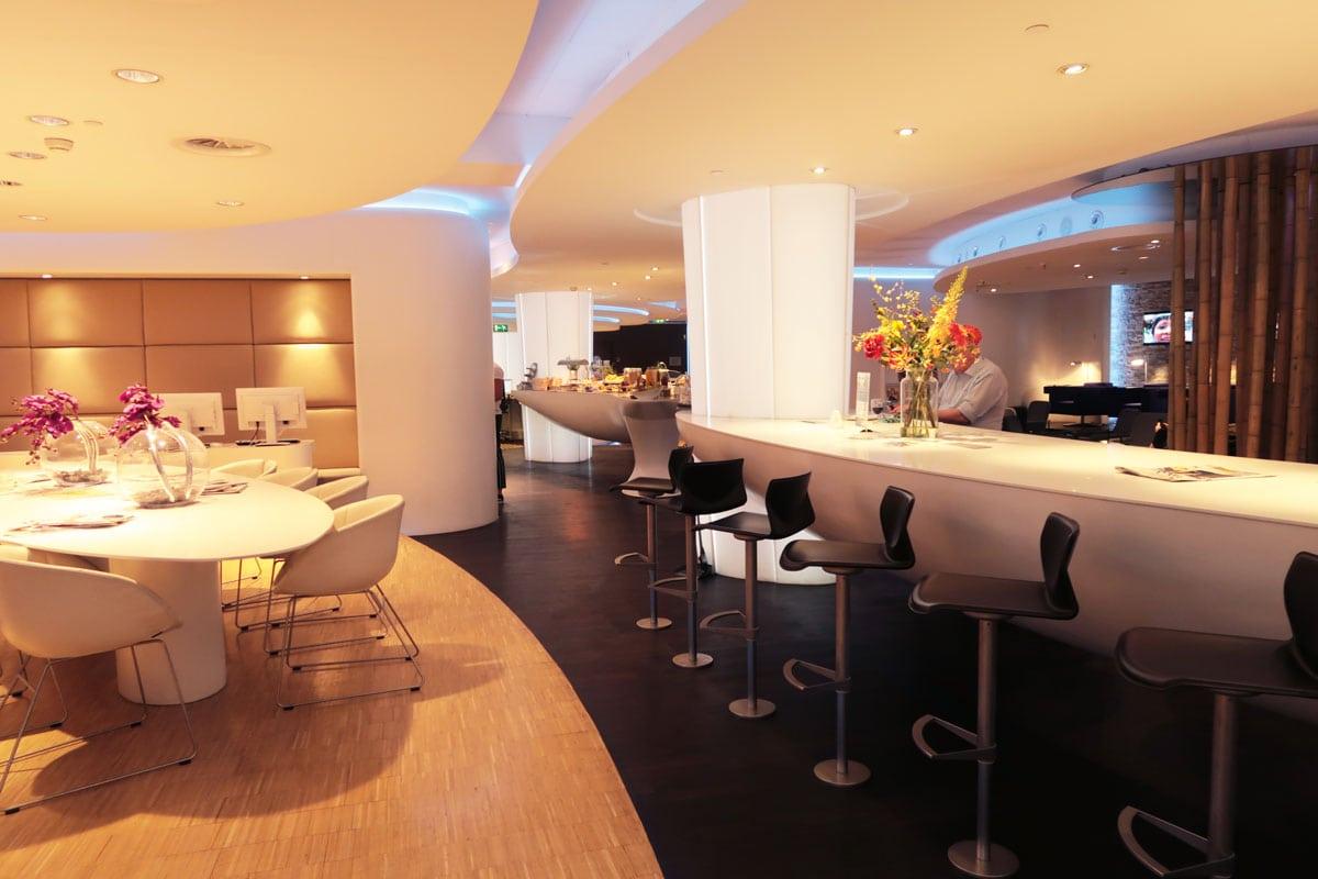 Privium ClubLounge en Airside Lounge Schiphol