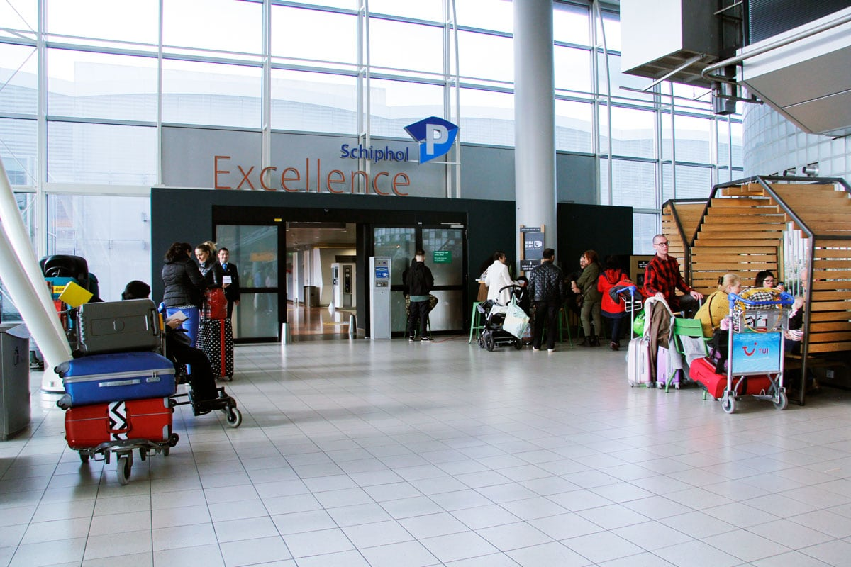 Privium Parking Schiphol Excellence