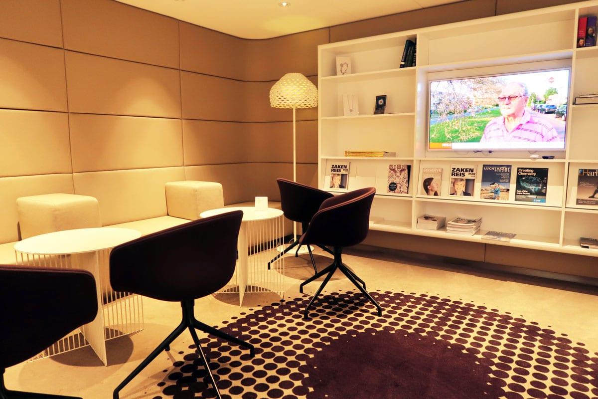 Privium kranten en tijdschriften business lounge