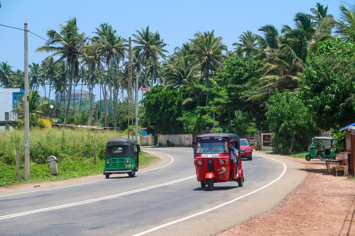 Voorbereiding reis Sri Lanka