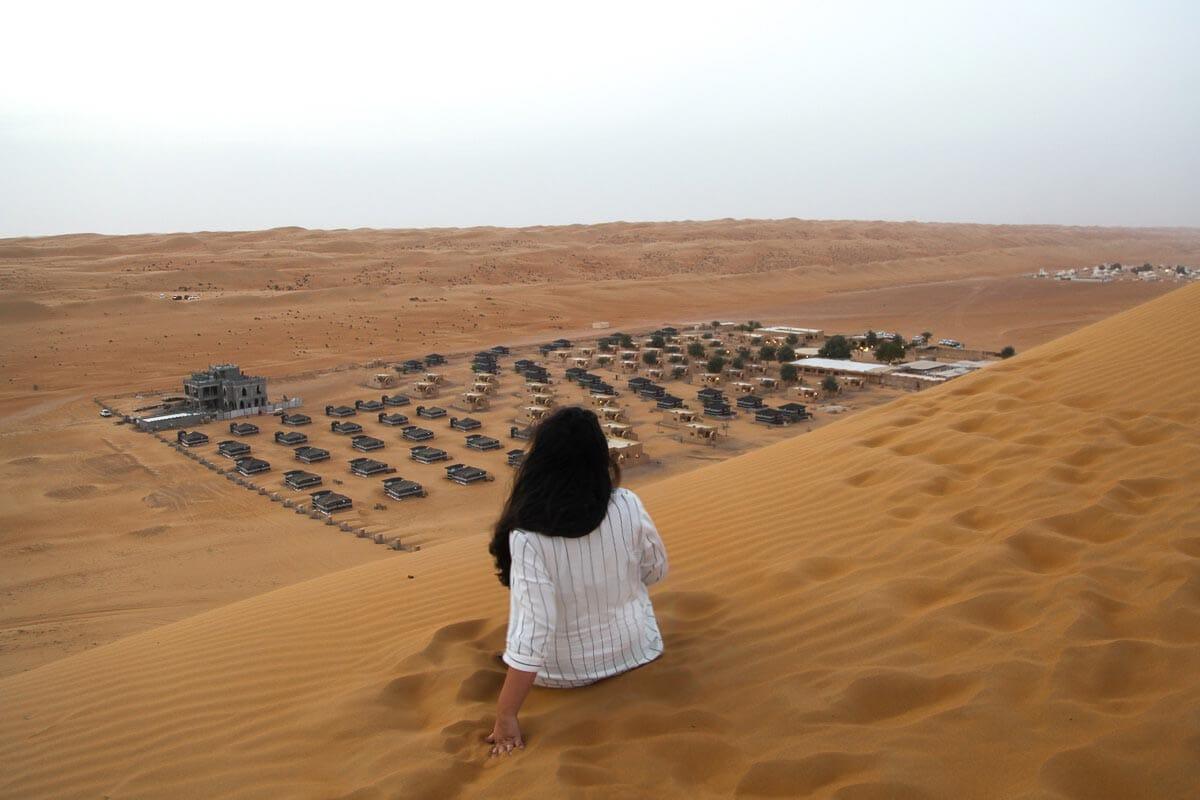 Arabian Oryx Camp Wahiba Sands