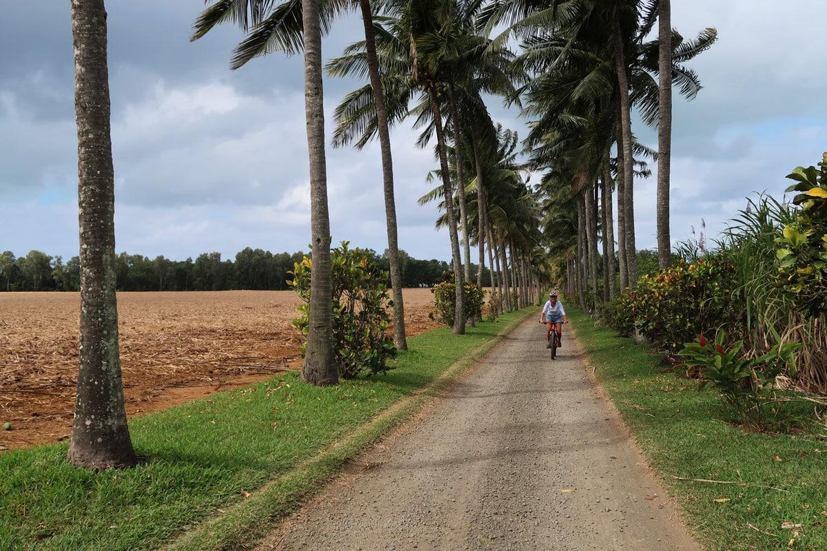 fietsen oostkust grand port mauritius
