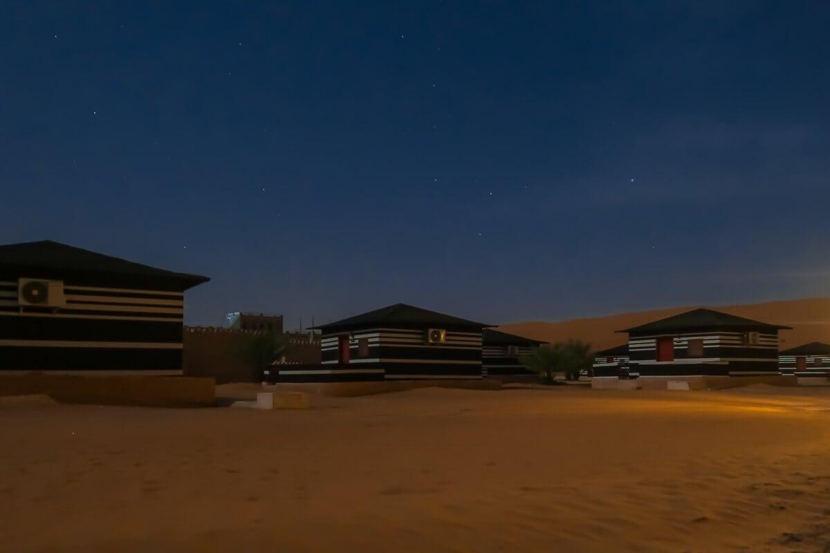 Sterren kijken in de woestijn