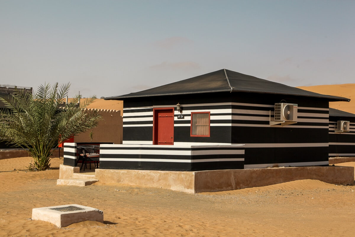 Glamping Oman luxe kamperen