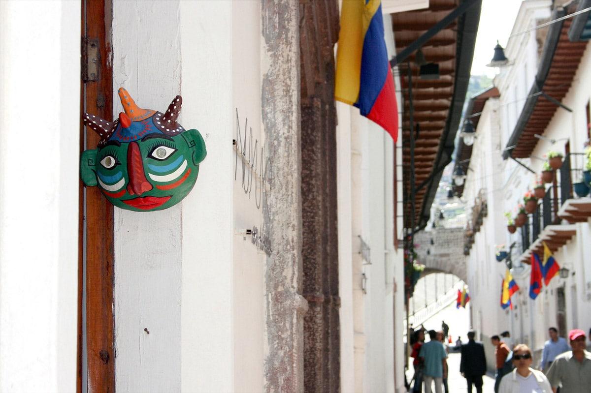 quito hoofdstad ecuador centrum