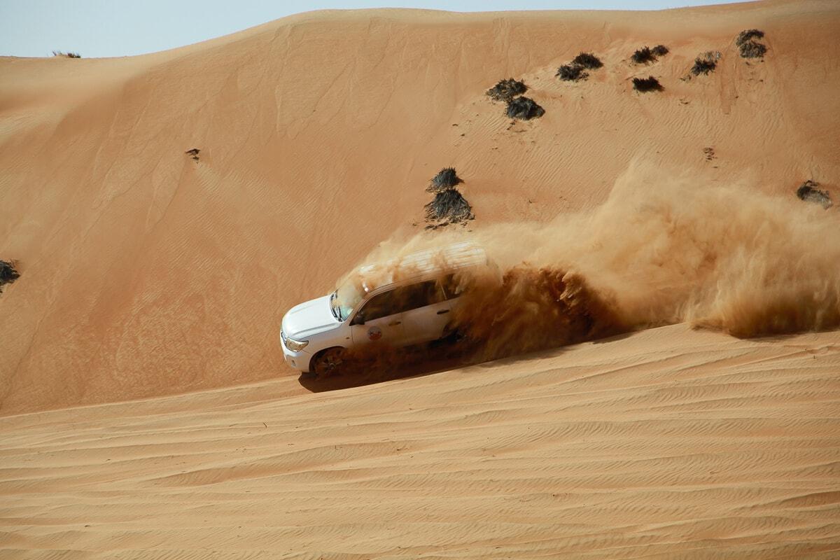 Dune bashen Wahiba Sands