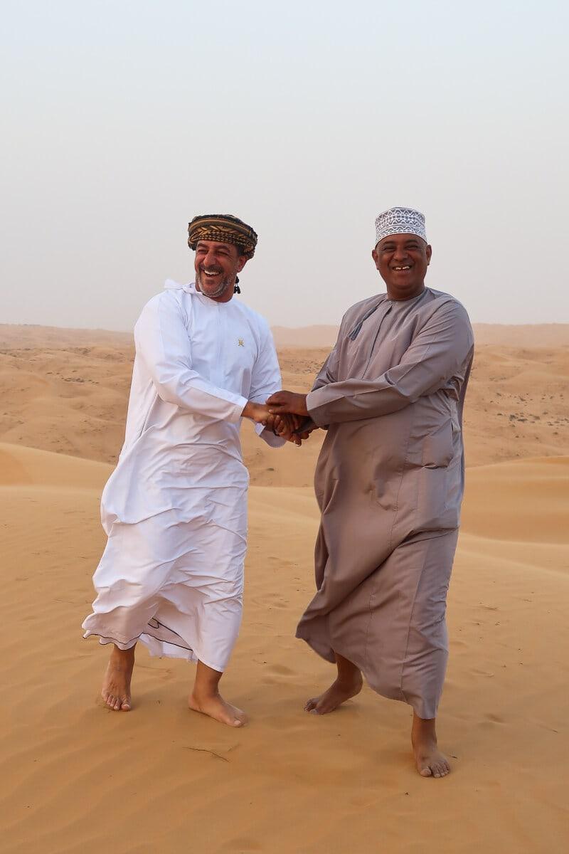 Wahiba Sands Oman woestijn