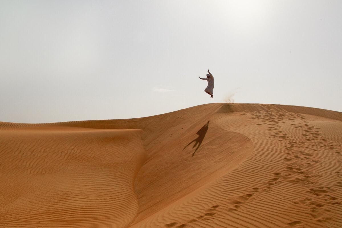 Reis door de woestijn in Oman