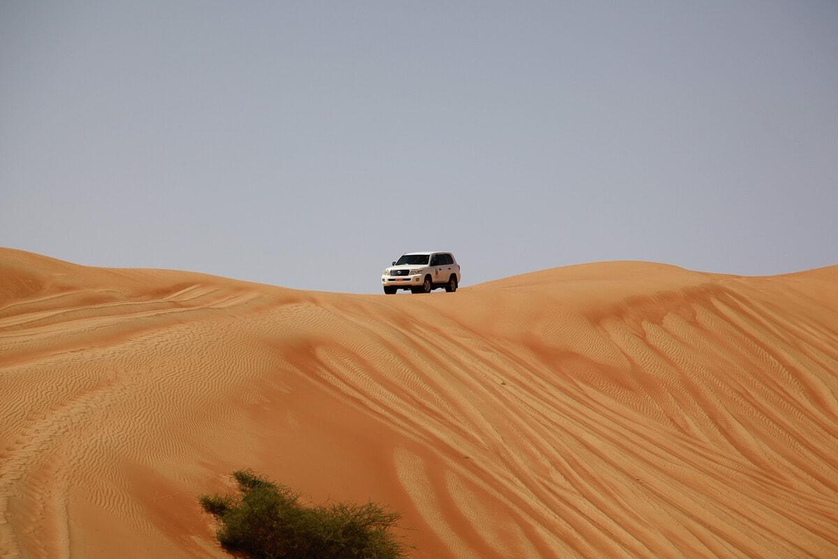 Oman Wahiba Sands Dune Bashing
