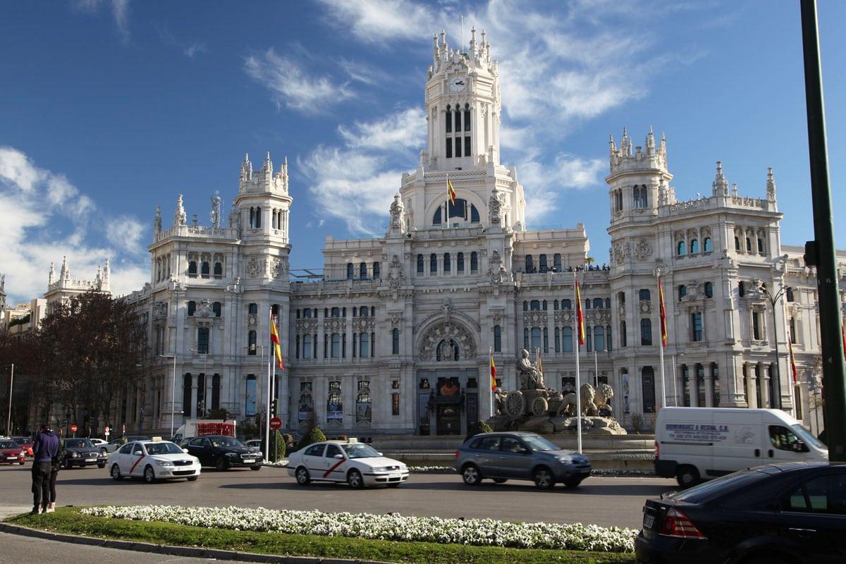madrid bezienswaardigheden plaza de cibeles