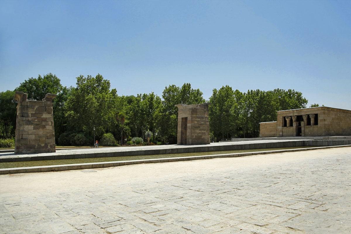 templo de debod park