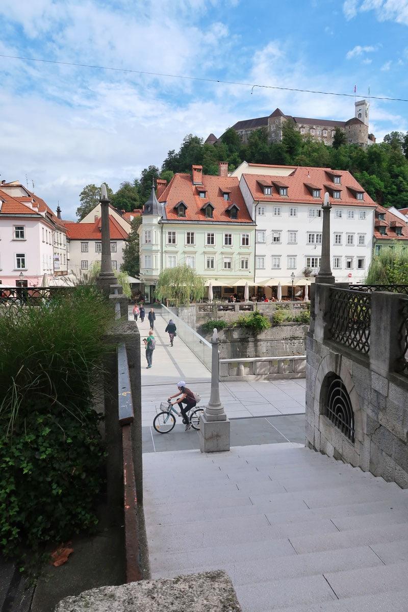 ljubljana centrum Slovenië