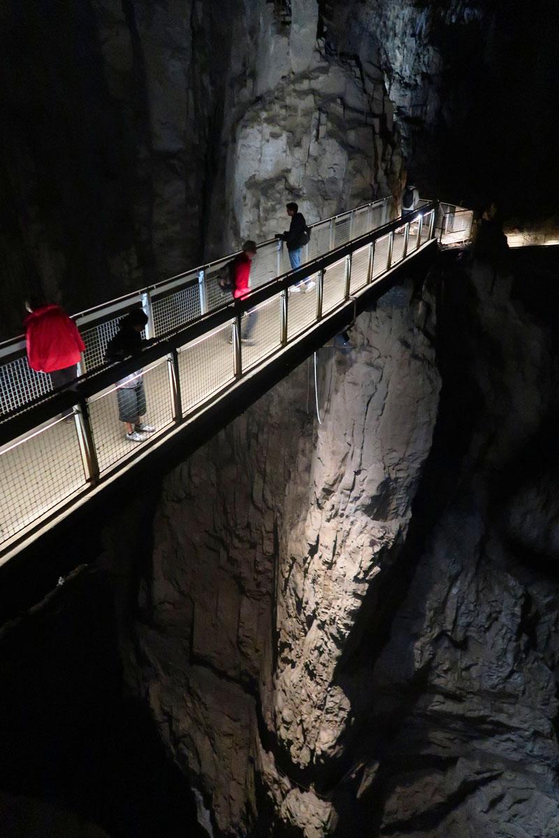 Škocjan Caves Slovenië