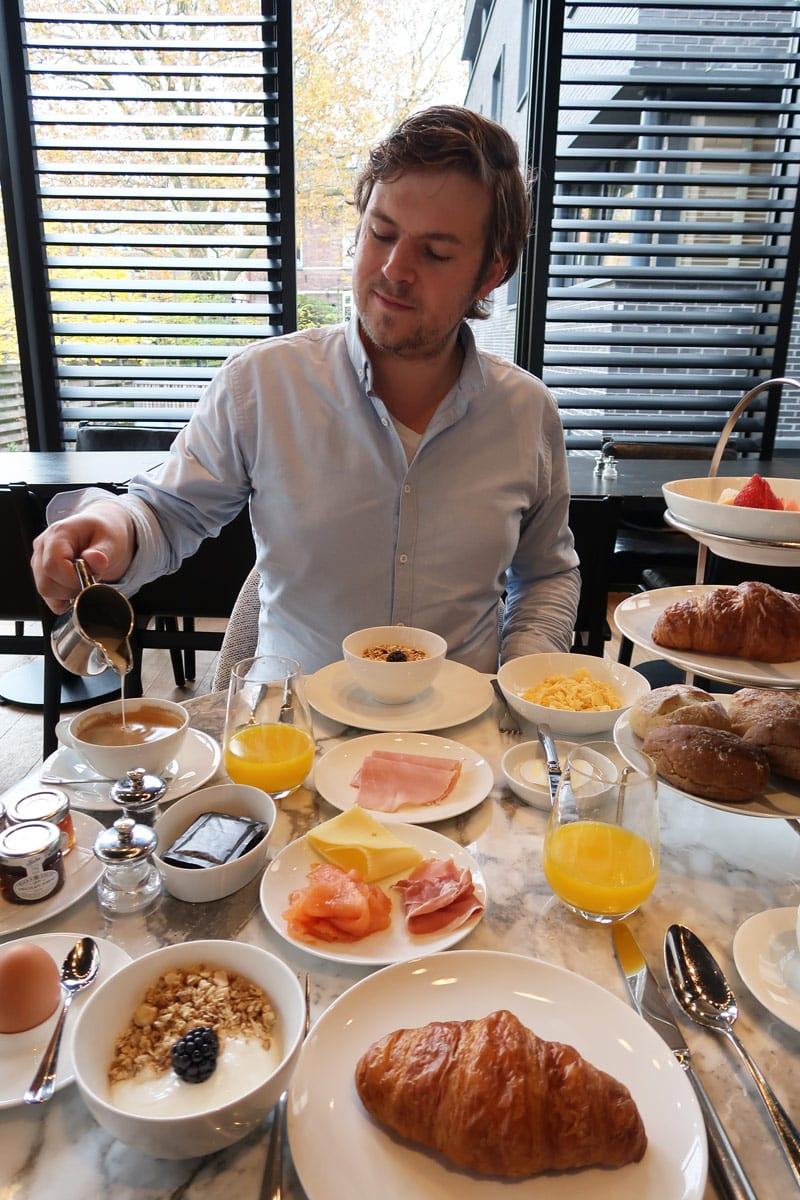 Ontbijt Pillows Hotel Zwolle