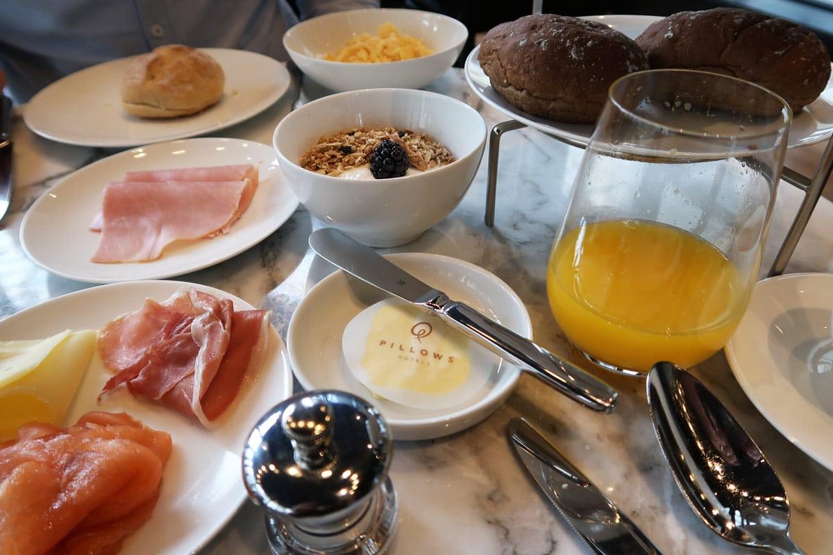 Pillows hotel ontbijt