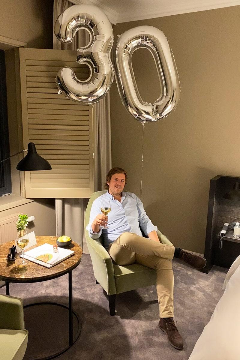 Verjaardag vieren Pillows Hotel Zwolle