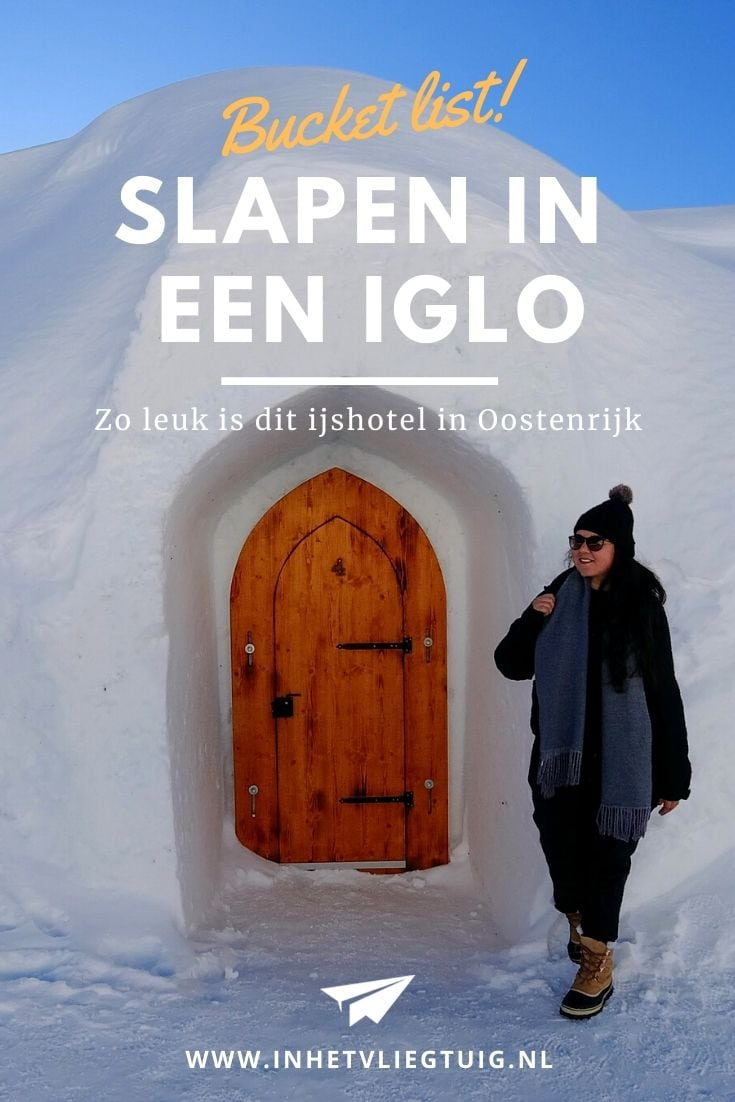 Slapen in een iglo