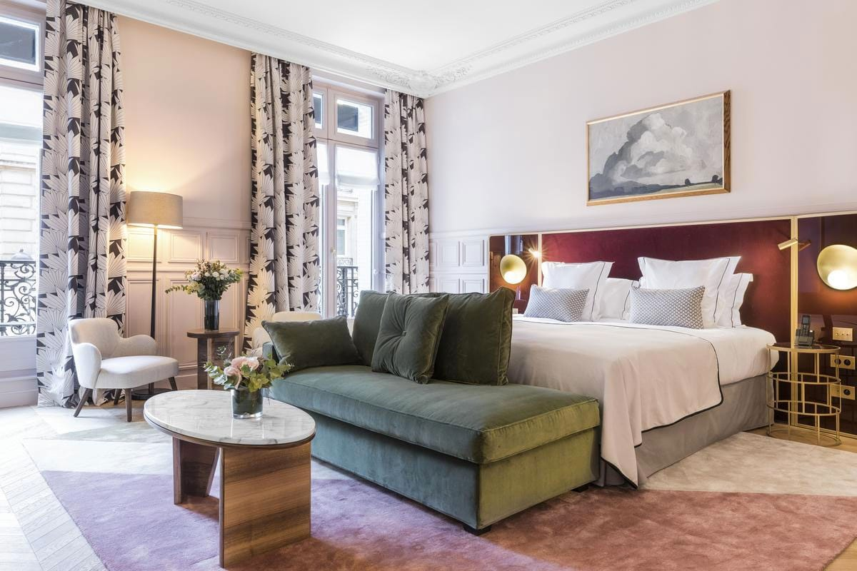 Luxe boutique hotel in Parijs