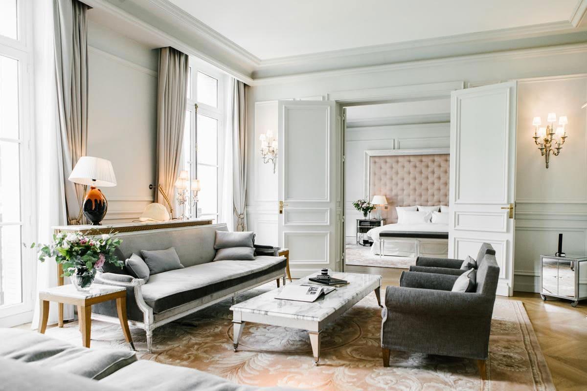 Romantische hotels in het centrum van Parijs